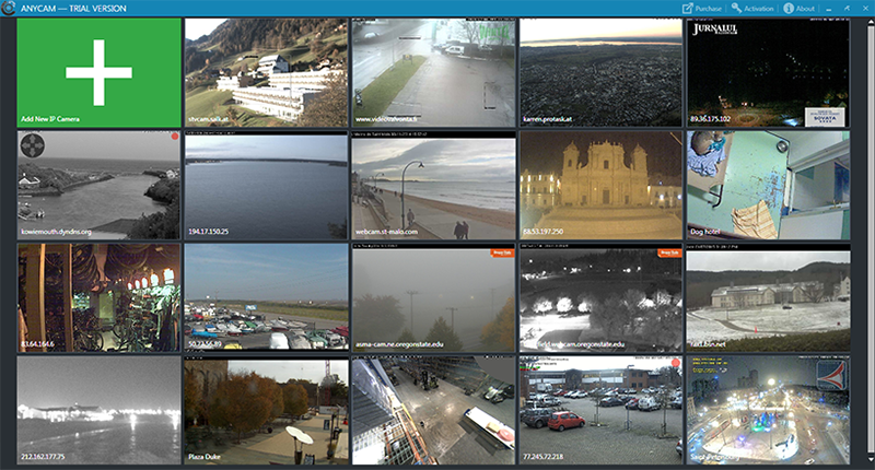 AnyCam is a user-friendly and effective software for CCTV